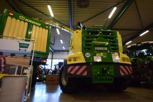 Foto van een Krone Big X 800. Geplaatst door jd7920 op 26-11-2017 om 18:19:42, op TractorFan.nl - de nummer 1 tractor foto website.