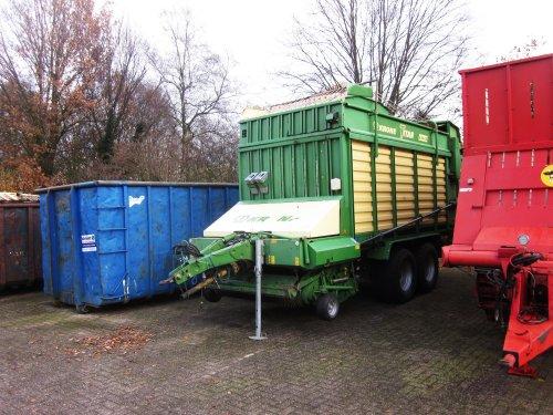 Foto van een Krone Titan 6/44 GD. Geplaatst door jordi 1455 op 02-02-2018 om 22:14:20, op TractorFan.nl - de nummer 1 tractor foto website.