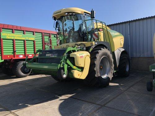 Foto van een Krone Big X 580. Geplaatst door jellehoekstra op 09-05-2018 om 18:45:13, op TractorFan.nl - de nummer 1 tractor foto website.
