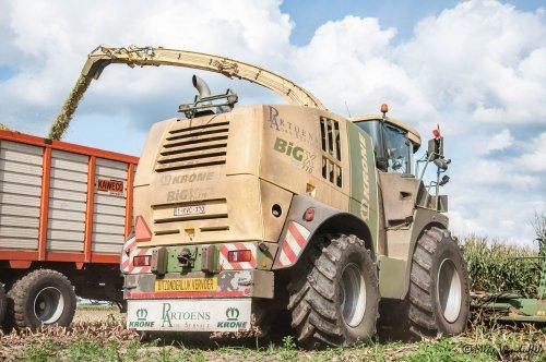 Maïsmeister van Noord-limburg!  Krone Big X 770 Partoens BvBa Agro Service - Bree (B). Geplaatst door mike_v op 31-08-2018 om 20:00:00, op TractorFan.nl - de nummer 1 tractor foto website.