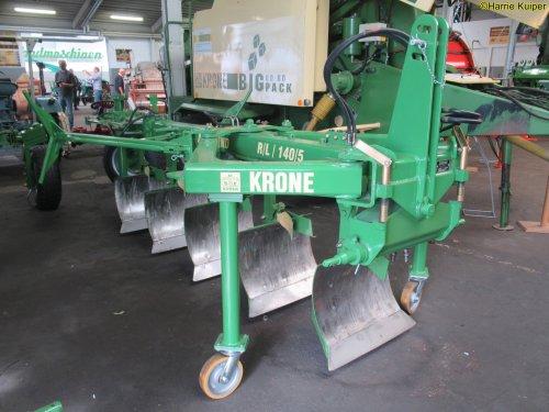 Foto van een Krone Ploeg.  29 mei bezoek gebracht aan de Krone fabriek in DLD. ( Spelle ) en ze hebben er ook een museum bij.