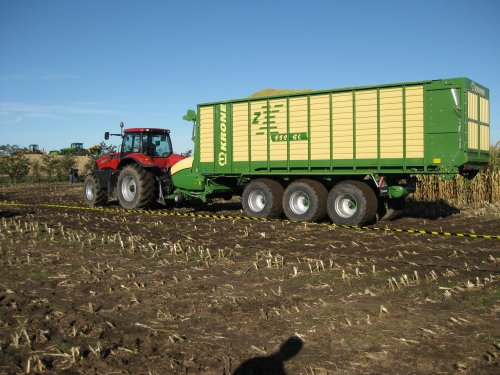 Krone zx 550 gd van Deutzties