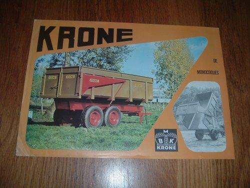 Foto van een Krone kipper folder, bezig met poseren.. Geplaatst door rolph94 op 17-06-2012 om 17:38:40, met 3 reacties.