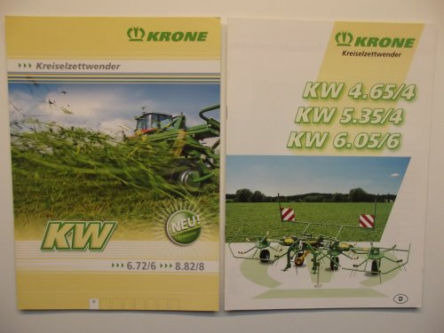 Krone folder van Trekkerman Tom
