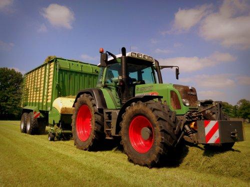 Foto van een Krone ZX 450 GD.. Geplaatst door lintelll op 21-05-2014 om 09:24:52, op TractorFan.nl - de nummer 1 tractor foto website.