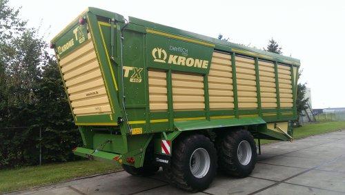 Krone TX 460 van case-inter