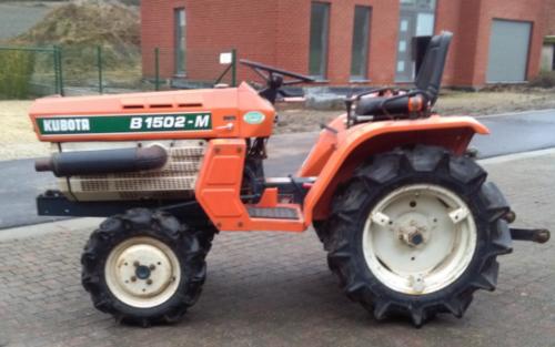 Foto van een Kubota B1502m die te koop staat. Geplaatst door fordson dext op 11-01-2018 om 18:25:37, op TractorFan.nl - de nummer 1 tractor foto website.