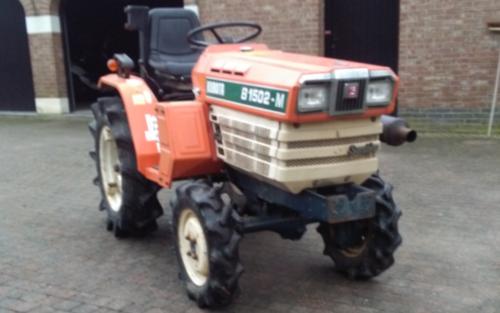 Foto van een Kubota B1502m die te koop staat. Geplaatst door fordson dext op 11-01-2018 om 18:25:47, op TractorFan.nl - de nummer 1 tractor foto website.