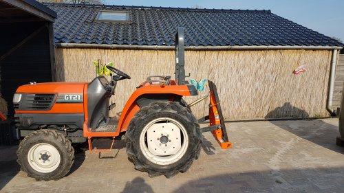 Foto van een Kubota GT21. Geplaatst door Sideswipe op 17-04-2019 om 14:58:27, op TractorFan.nl - de nummer 1 tractor foto website.