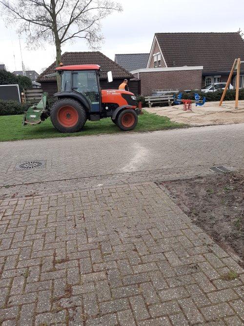 Foto van een Kubota M8540. Geplaatst door Niels ensing op 20-03-2020 om 11:59:45, op TractorFan.nl - de nummer 1 tractor foto website.
