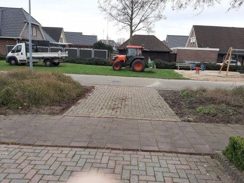 Foto van een Kubota M8540. Geplaatst door Niels ensing op 20-03-2020 om 11:59:46, op TractorFan.nl - de nummer 1 tractor foto website.