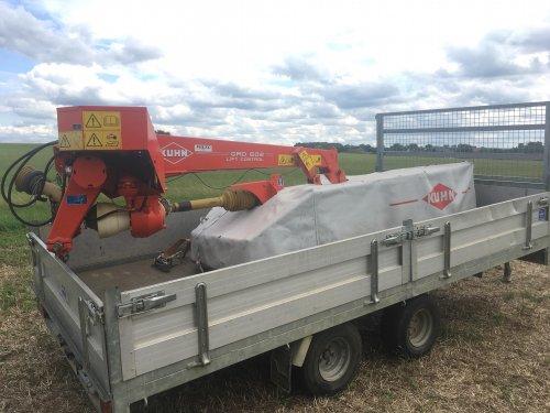 Foto van een Kuhn Maaier, een GMD 602, onze nieuwe aanwinst. Geplaatst door seppe sools op 15-08-2019 om 10:58:43, op TractorFan.nl - de nummer 1 tractor foto website.