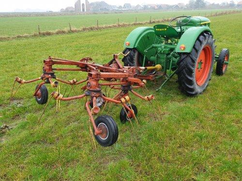 Nieuwe aanwinst. De Eerste Kuhn Girohooier type GF 4. Geplaatst door LG0enga op 01-11-2019 om 15:58:48, op TractorFan.nl - de nummer 1 tractor foto website.