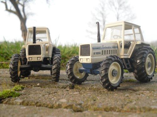Landbouw miniaturen 1:43 Lamborghini van Jelmer Deere