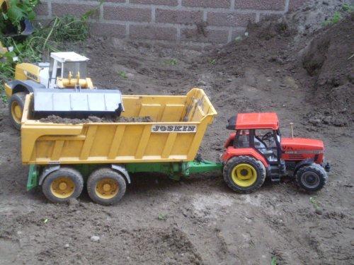 Landbouw miniaturen 1:16 shovel Tapeta