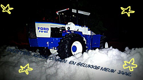Landbouw miniaturen 1:16 Ford Tapeta
