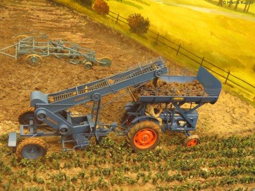 Landbouw miniaturen 1:16 Fordson van oldtimergek