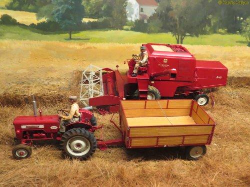 Landbouw miniaturen 1:16 Meerdere Wallpaper