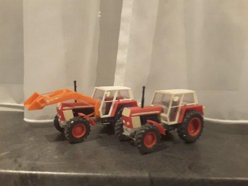 Landbouw miniaturen 1:43 Zetor van mklok