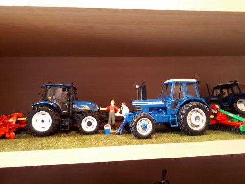 Landbouw miniaturen 1:32 Ford van tombo