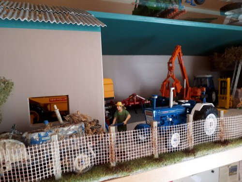 Landbouw miniaturen 1:32 diorama van tombo