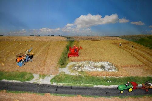 Landbouw miniaturen 1:32 diorama van jordi 1455