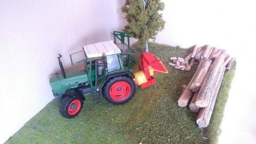 Landbouw miniaturen 1:32 Fendt van inspecteurfendt