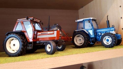 Fiat 110-90 en Ford 7810. Geplaatst door tombo op 26-05-2019 om 13:13:30, op TractorFan.nl - de nummer 1 tractor foto website.
