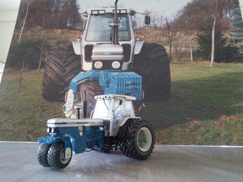 Foto van een Landbouw miniaturen 1:32 Ford 7810 SJ Trike. Geplaatst door mklok op 14-03-2020 om 12:25:31, met 6 reacties.