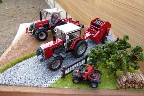 Foto van een Landbouw miniaturen 1:32 diorama. Geplaatst door wydoogheandy op 07-04-2020 om 20:39:52, met 2 reacties.