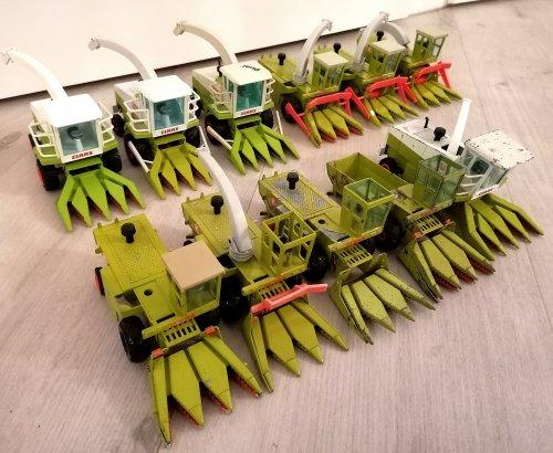 Landbouw miniaturen 1:32 Claas van jaguar80