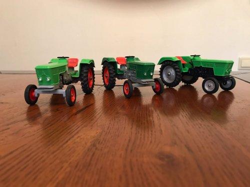 Landbouw miniaturen 1:32 Deutz van oldtimergek