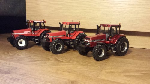 Mijn verzameling Magnums. Een Pro uitvoering staat ook nog op het verlanglijstje.. Geplaatst door caseboy op 06-04-2021 om 08:54:50, op TractorFan.nl - de nummer 1 tractor foto website.