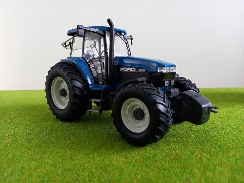 Landbouw miniaturen 1:32 Ford van john deere 8360r