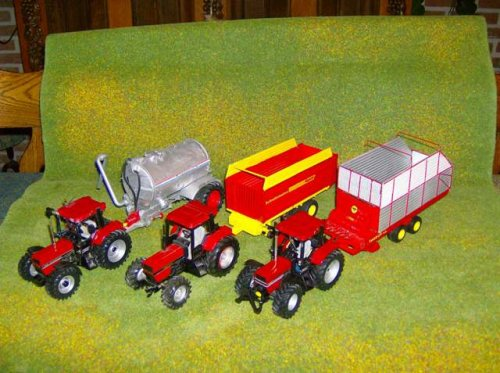 Landbouw miniaturen 1:32 Case van sjouke