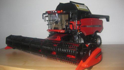 Foto van een Landbouw miniaturen 1:32 Case.. Geplaatst door johndeere6220 op 30-03-2011 om 20:25:21, op TractorFan.nl - de nummer 1 tractor foto website.