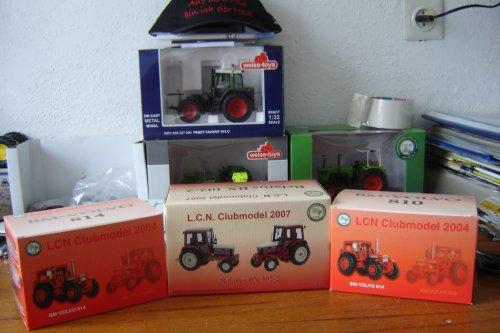 Landbouw miniaturen 1:32 Clubmodel LCN van fendt 590