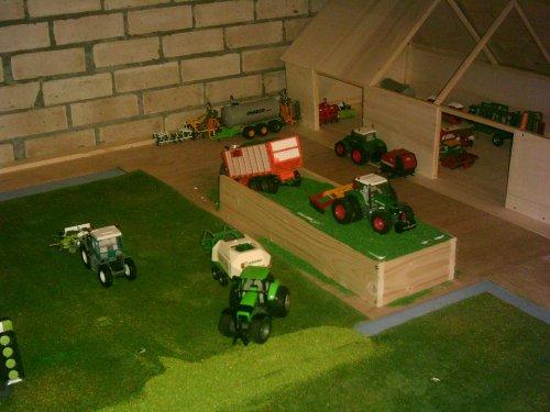 Landbouw miniaturen 1:32 Mijn verzameling van fendtdatispasgoed