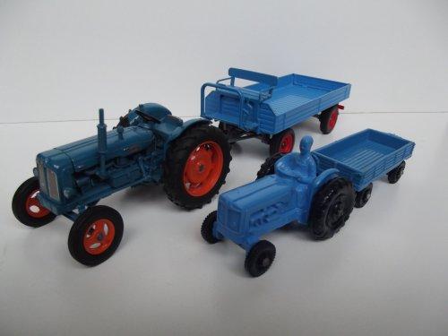 Landbouw miniaturen schaal onbekend Fordson van Trekkerman Tom