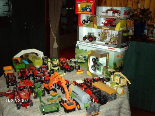 Landbouw miniaturen 1:32 Mijn verzameling van casexl956