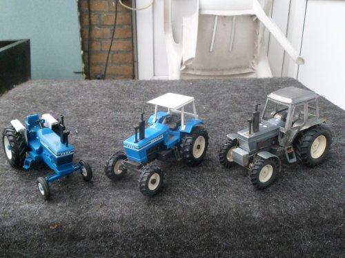 Landbouw miniaturen 1:43 ford van kramer