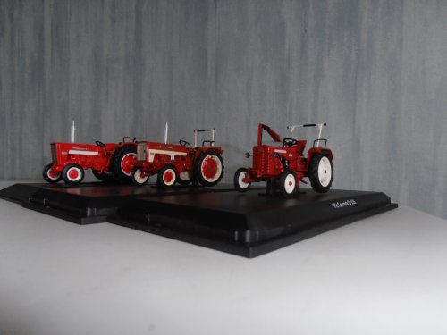 Landbouw miniaturen 1:43 International van japie82