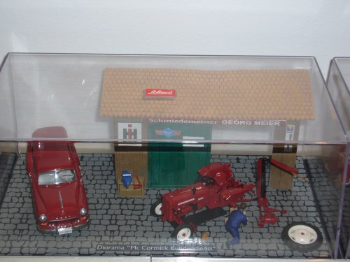 Landbouw miniaturen 1:43 International Fond d'écran