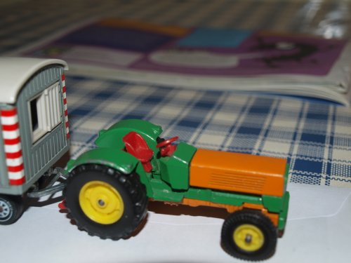 Landbouw miniaturen 1:43 Hanomag van manus