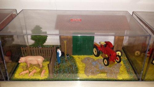 Landbouw miniaturen 1:43 Porsche van Roelll