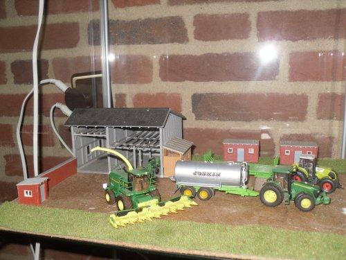 landbouwminiaturen 1:87 meerdere van Jelmer Deere