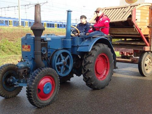 Foto van een Lanz Bulldog Onbekend Bokbierdag Zutphen 13 oktober 2019.. Geplaatst door dickt op 21-10-2019 om 11:30:09, op TractorFan.nl - de nummer 1 tractor foto website.