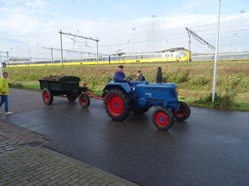 Foto van een Lanz Bulldog Onbekend Bokbierdag Zutphen 13 oktober 2019.. Geplaatst door dickt op 21-10-2019 om 11:30:23, op TractorFan.nl - de nummer 1 tractor foto website.