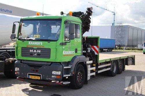 Foto van een MAN TGA, opgebouwd als open laadbak.. Geplaatst door Alex Miedema op 22-07-2020 om 19:55:53, op TractorFan.nl - de nummer 1 tractor foto website.