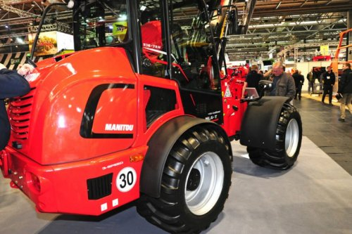 Foto van een Manitou MLA-T 516-75H